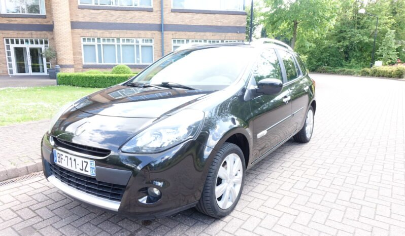 2010 RENAULT CLIO 1.5 DCI TOMTOM EDITION FRENCH REGISTERED LEFT HAND DRIVE LHD full