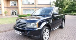 2008 LAND ROVER RANGE ROVER SPORTS 4.4 HSE UK REGISTERED LEFT HAND DRIVE LHD