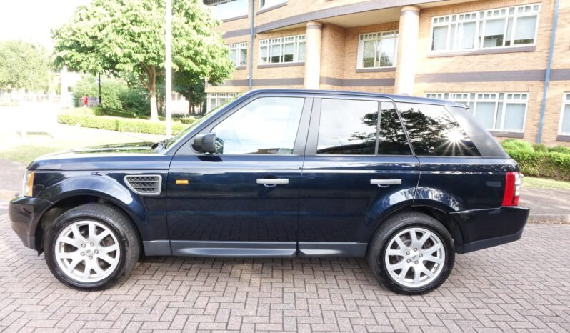 2008 LAND ROVER RANGE ROVER SPORTS 4.4 HSE UK REGISTERED LEFT HAND DRIVE LHD full