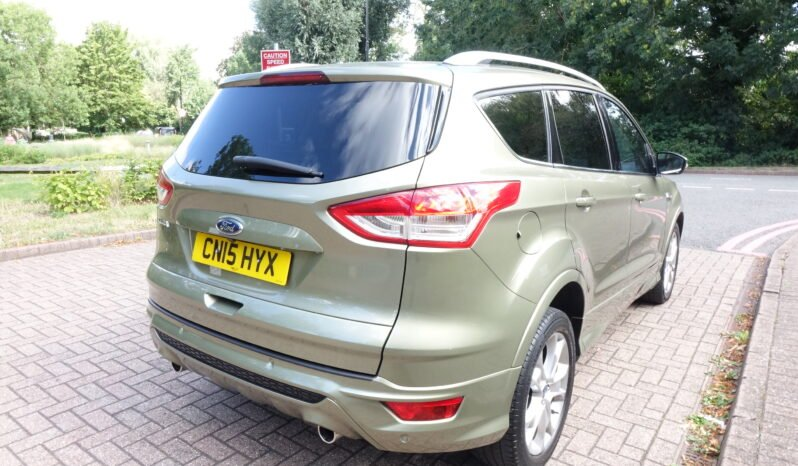 2015 FORD KUGA 2.0 TDCI TITANIUM 150BHP UK REGISTERED LEFT HAND DRIVE LHD full
