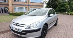 2005 PEUGEOT 307 1.6 FRENCH REGISTERED LEFT HAND DRIVE LHD