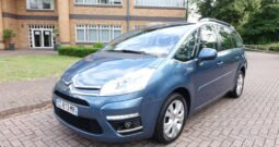 2012 CITROEN C4 GRAND PICASSO 1.6 E HDI AUTO  7 SEATER FRENCH REGISTERED LEFT HAND DRIVE LHD